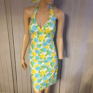 Lilly Pulitzer lemons and blueberries dress size 0